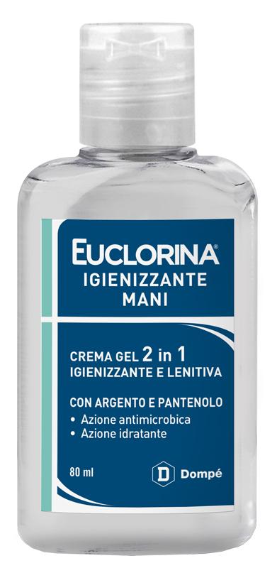 Dompe Farmaceutici Euclorina Igienizzante Mani Crema Gel 80 Ml