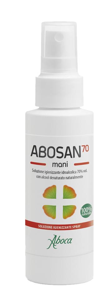 Aboca Abosan70 Soluzione Igienizzante Mani 100 Ml Spray