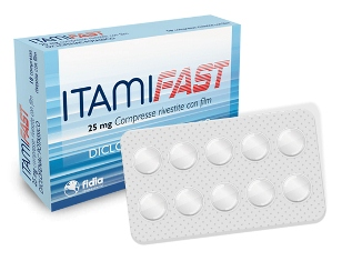 Itamifast 25 Mg Compresse Rivestite Con Film 10 Compresse In Blister Pa Pvc Al