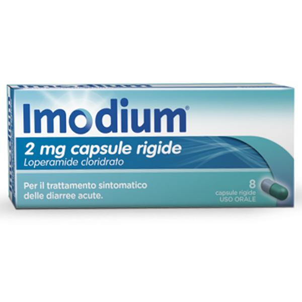 Imodium 2 Mg Capsule Rigide 8 Capsule