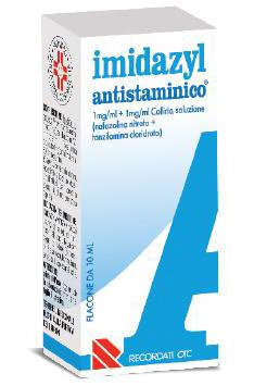 Imidazyl Antist 1 Mg/Ml + 1 Mg/Ml Collirio, Soluzione 1 Flacone 10 Ml