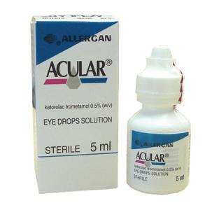 Acular 0,5% Collirio, Soluzione 1 Flacone Da 5 Ml