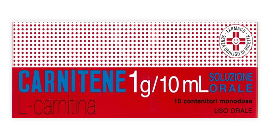 Carnitene 1 G/10 Ml Soluzione Orale 10 Contenitori Monodose