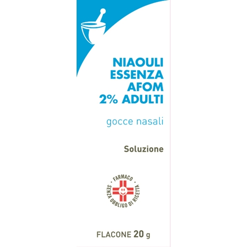 Niaouli Essenza Fa 2% Adulti Gocce Nasali, Soluzione Flacone 20 G
