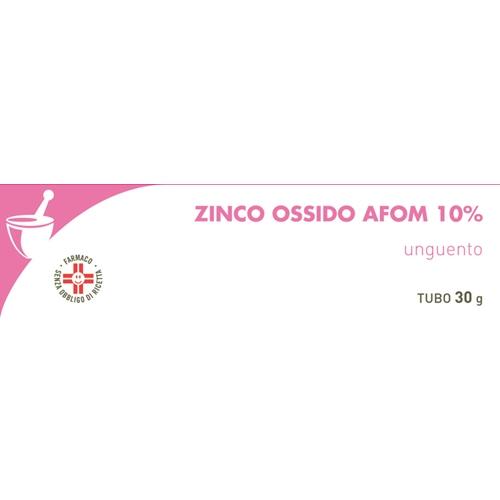 Zinco Ossido Afom 10% Unguento Tubo 30 G