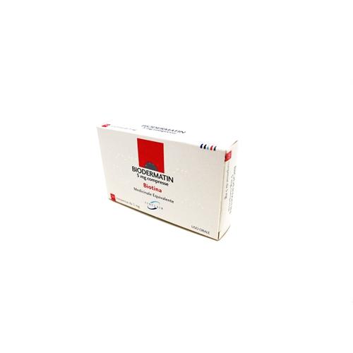 Biodermatin 5 Mg Compresse 30 Compresse