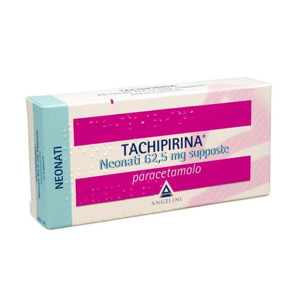 Tachipirina Neonati 62 5 Mg Supposte 10 Supposte