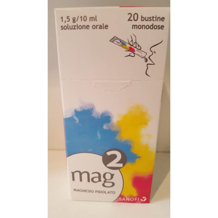 Mag 2 1 5 G 10 Ml Soluzione Orale 20 Bustine Monodose In Pet Al Pe Da 10 Ml