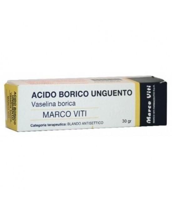 Acido Borico Mv 3 Unguento Tubo Da 30 G