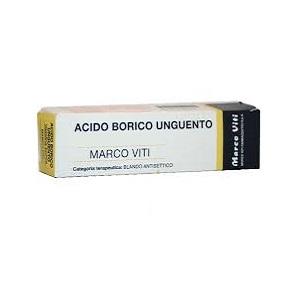 Acido Borico Mv 3 Unguento Tubo Da 50 G