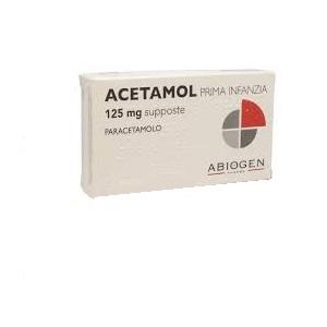 Acetamol Prima Infanzia 125 Mg Supposte 10 Supposte