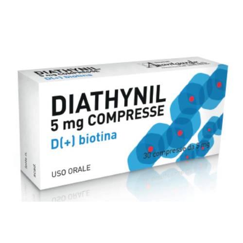 Diathynil 5 Mg Compresse 30 Compresse In Blister Pvc Al