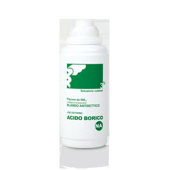Acido Borico 3% Flacone 500 Ml