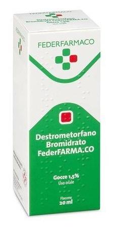 Destrometorfano Br Farmak 15 Mg/Ml Gocce Orali, Soluzione 1 Flacone Da 20 Ml