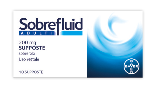 Sobrefluid Adulti 200 Mg Supposte 10 Supposte