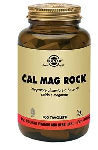 Solgar It. Multinutrient Cal Mag Rock 100 Tavolette