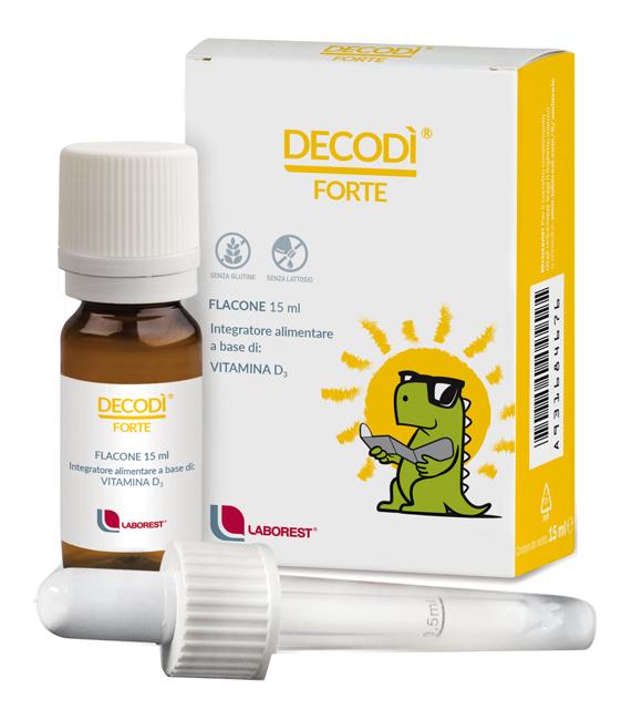 Laborest Decodi Forte Vitamina D Integratore Ossa Denti Sistema Immunitario 15Ml