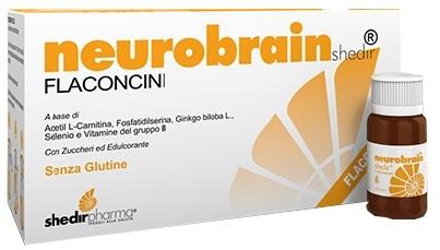 Shedir Pharma  Unipersonale Neurobrainshedir 10 Flaconcini Da 10 Ml