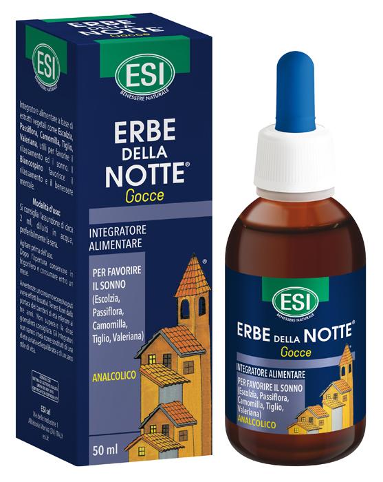 Erbe Della Notte Gocce Analcolico 50 Ml