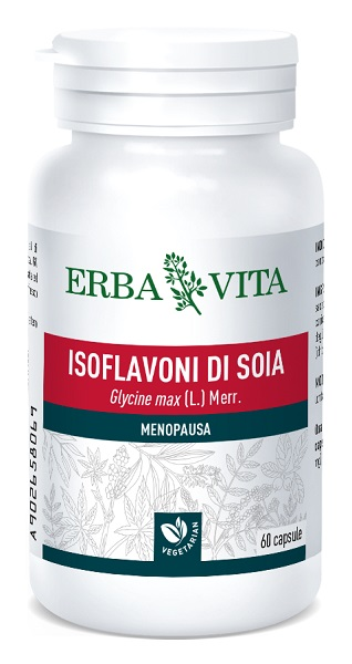 Erba Vita Group Isoflavoni Soia 60 Capsule 450 Mg