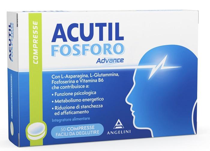 Angelini Acutil Fosforo Advance 50 Compresse