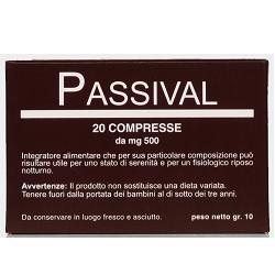 So.gi.pharma Passival Estratto Erboristico 20 Compresse