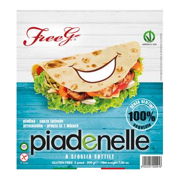 Freeg Piadenelle Freeg 2 X 100 G Senza Lattosio