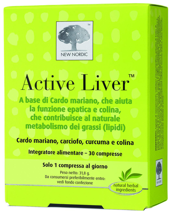 New Nordic Active Liver 30 Compresse