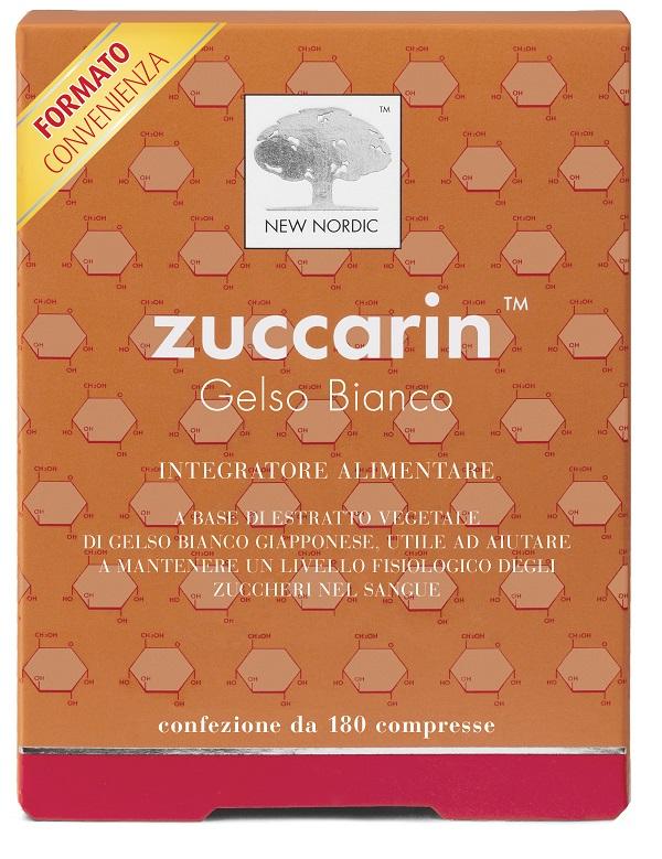 New Nordic Zuccarin 180 Compresse