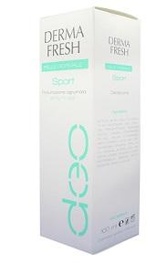 Dermafresh Deodorante Pelle Normale Sport Spray No Gas 100 ml