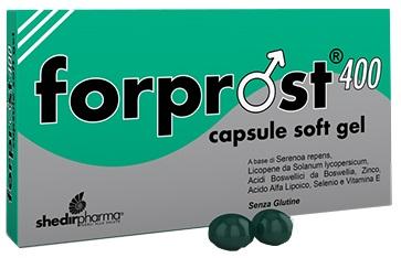 Shedir Pharma  Unipersonale Forprost 400 15 Capsule Molli