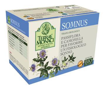 Terrae Monaci Somnus Tisana Bio 20 Filtri Da 1 G