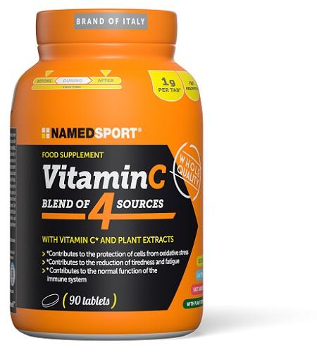 Namedsport Vitamin C 4 Natural Blend 90 Compresse