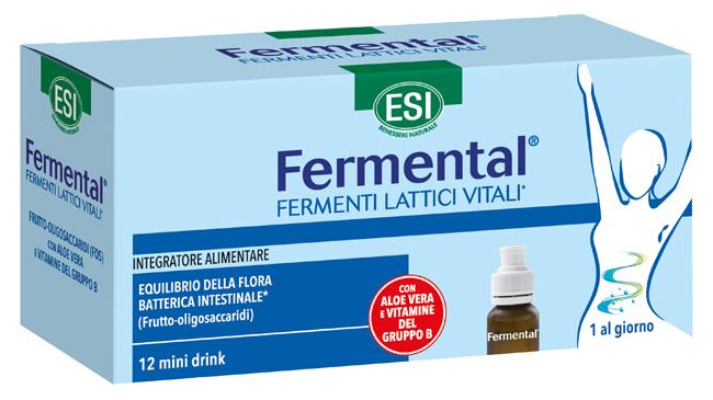Esi Linea Intestino Sano Fermental Max Integratore con Fermenti 12 Flaconcini