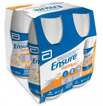 Abbott Ensure Nutrivigor Vaniglia 4 Bottiglie Da 220 Ml