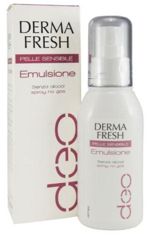 Dermafresh Deodorante Pelle Sensibile Emulsione Latte Senza Alcool 75 Ml