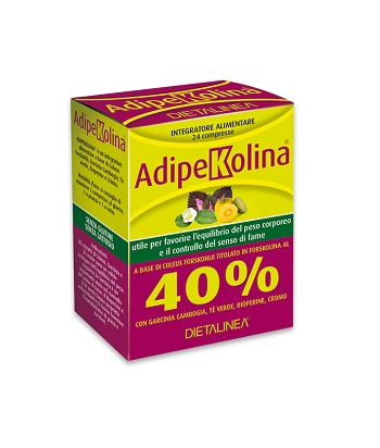 Gdp  general Dietet.pharma Dietalinea Adipekolina 24 Compresse