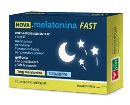 Nova Melatonina Fast 45 Compresse 1mg Di Melatonina