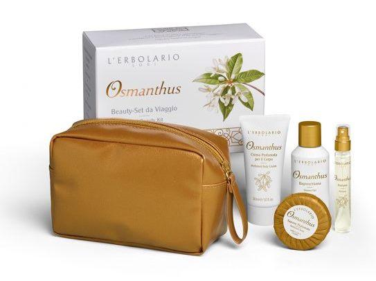 L''erbolario Osmanthus Beauty-set Da Viaggio Edizione Limitata 1 Pezzo