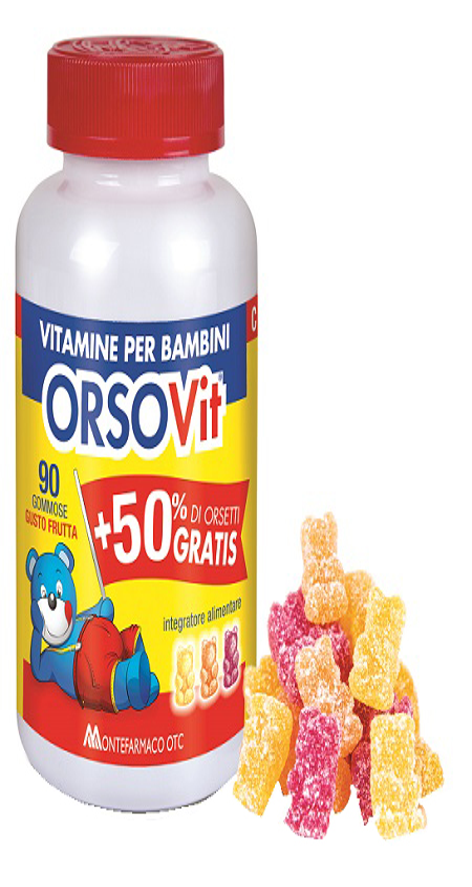 Montefarmaco Otc Orsovit Caramelle Gommose 90 Pezzi Promo