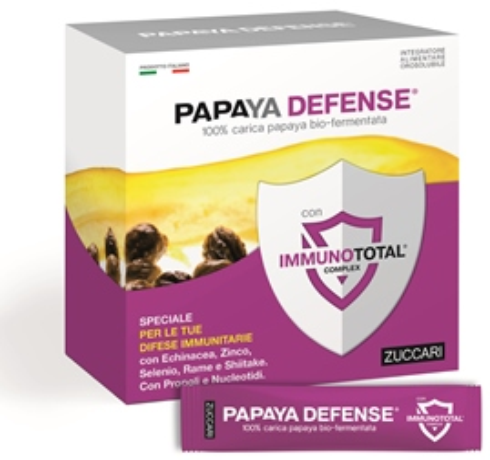 Zuccari Papaya Defense 30 Bustine