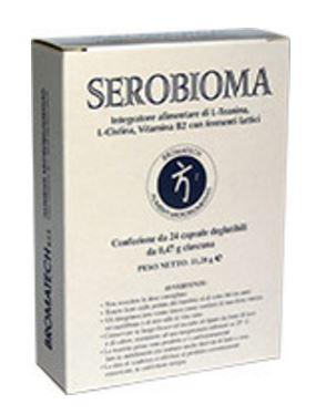 Bromatech Linea Intestino Sano Serobioma Integratore Alimentare 24 Capsule