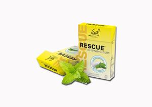 Schwabe Pharma Italia Rescue Original Chewing Gum Menta 25 Pezzi