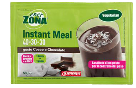 Enervit Enerzona Instant Meal Cocco E Cioccolato 53 G