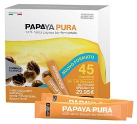 Zuccari Papaya Pura 45 Bustine Da 3 G Integratore Alimentare Orosolubile