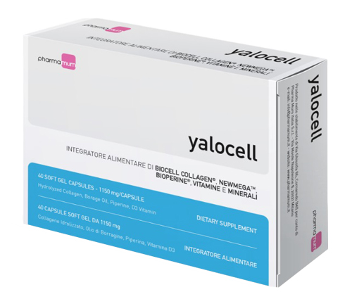 Yalocell 40 Capsule Da 1150 Mg