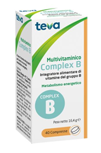 Teva Italia Multivitaminico Complex B Teva 40 Compresse 16 4 G