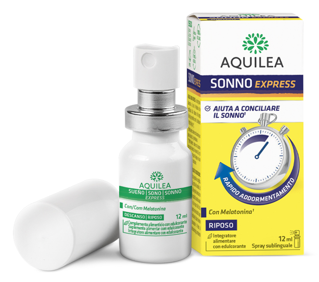 Uriach Italy Aquilea Sonno Express Spray 12 Ml