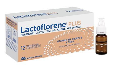 Montefarmaco Otc Lactoflorene Plus 12 Flaconcini 10 Ml
