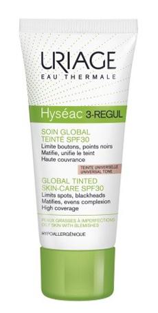 Uriage Laboratoires Dermatolog Hyseac 3-regul Cream Colorate Sp30 40 Ml